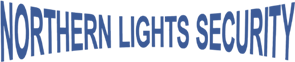 Northern Lights Security Text Logo.